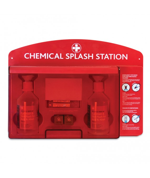 Redcap Chemical Splash Station