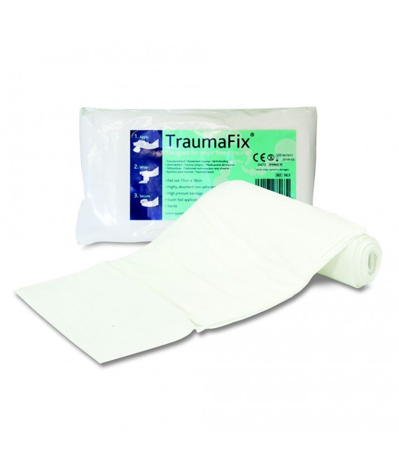 TraumaFix Dressing 10cm x 18cm  - Major Bleed Technology