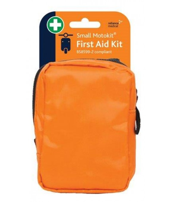 Motorists First Aid Kit Small in Soft Case - British Std  - Small BSI Motokit - Vehicle First Aid Kit BS8599-2