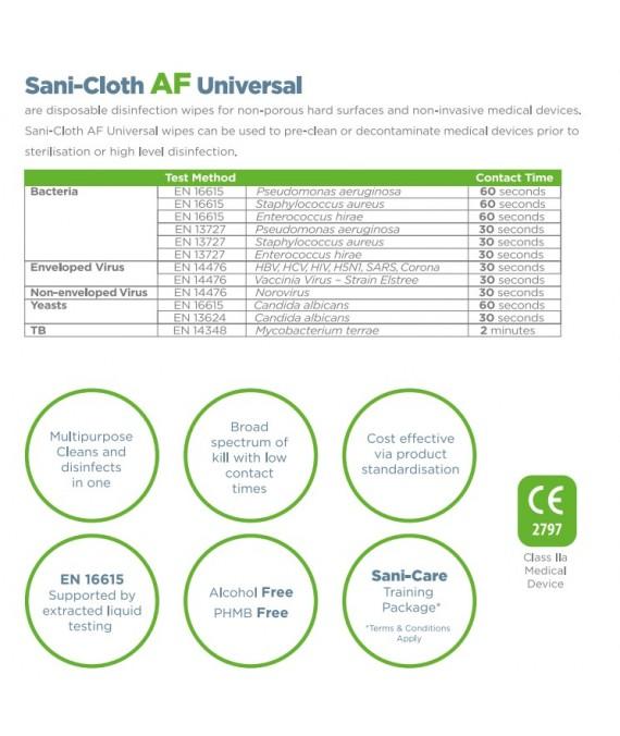 PDI Sani-Cloth AF Universal Wipes  x 40