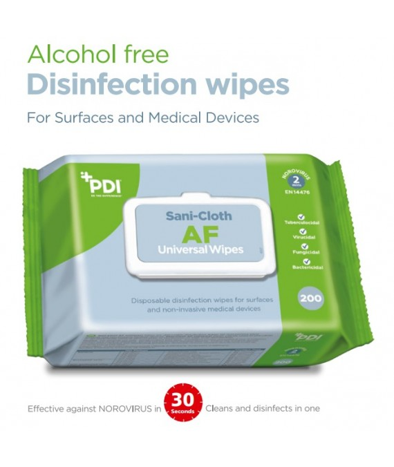 PDI Sani-Cloth AF Universal Wipes  x 200