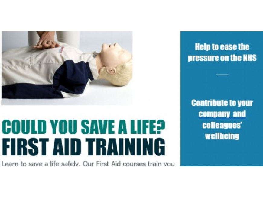 Do you have trouble recruiting staff for first aid training?
