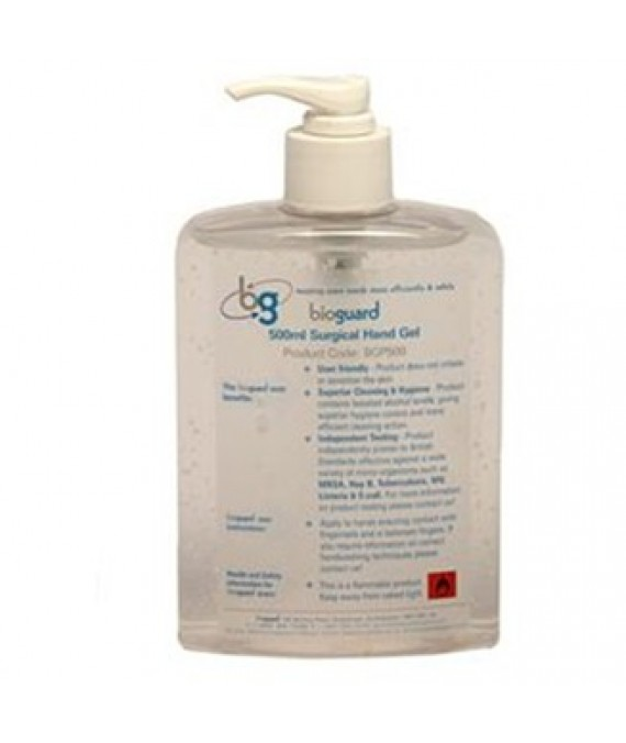 Alcohol Hand Gel 500ml Bioguard