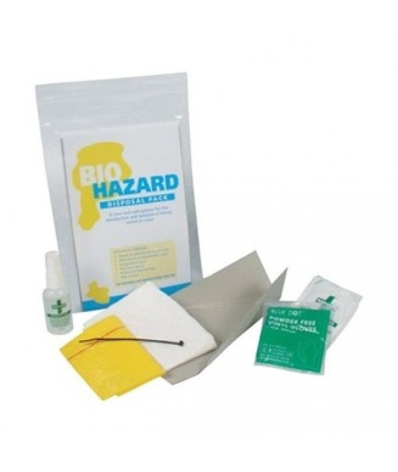 Biohazard Removal Kit - single application