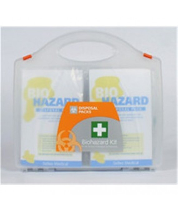 Biohazard Removal Kit - 5 applications