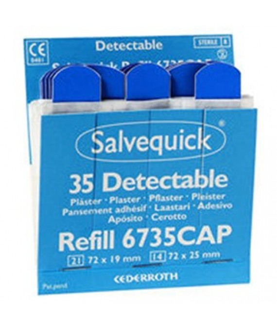 Cederroth Wproof Blue Plasters Refill (6735)