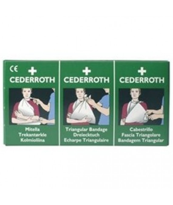 Cederroth Triangular Bandage x2 Pack