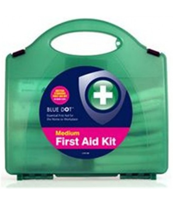 BSI Compliant First Aid Kit Medium - HSE Workplace Approved