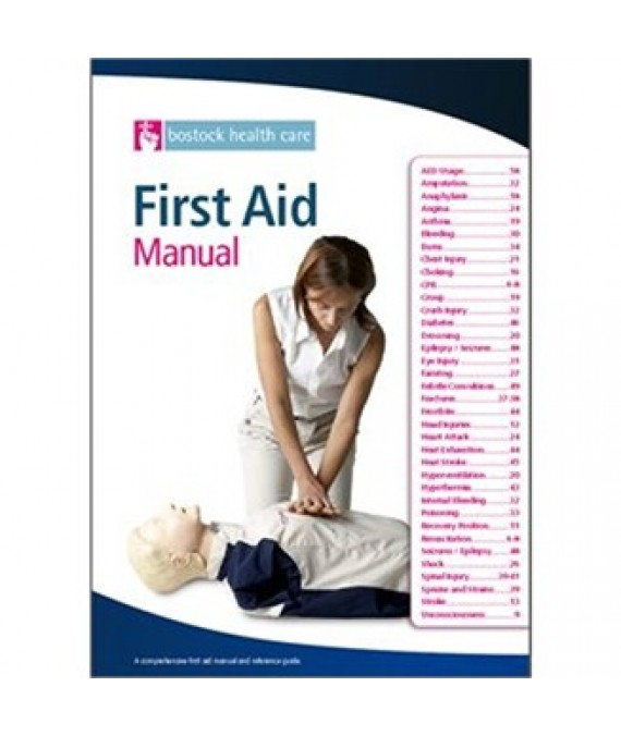First Aid at Work Manual A4
