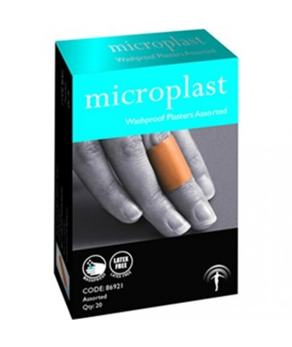 Washproof Plasters Assorted 100