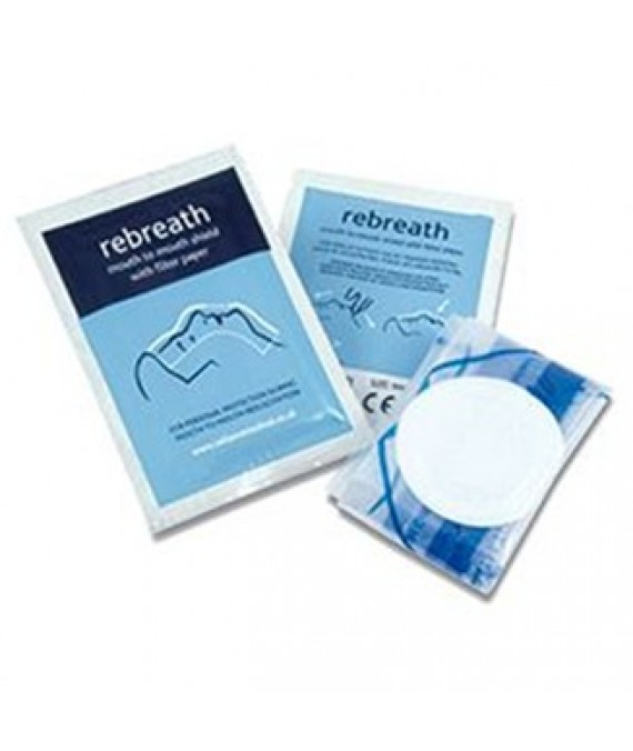 Resuscitation Shield in a Sachet