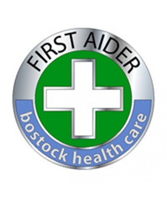 Enamel First Aider Badge