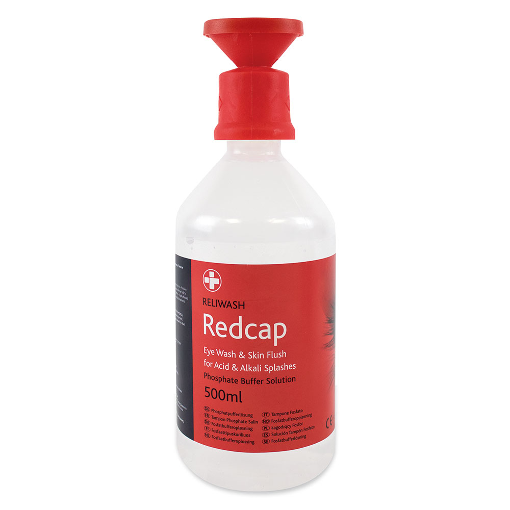 Redcap™ Phosphate Buffer Solution With Eyebath 500ml